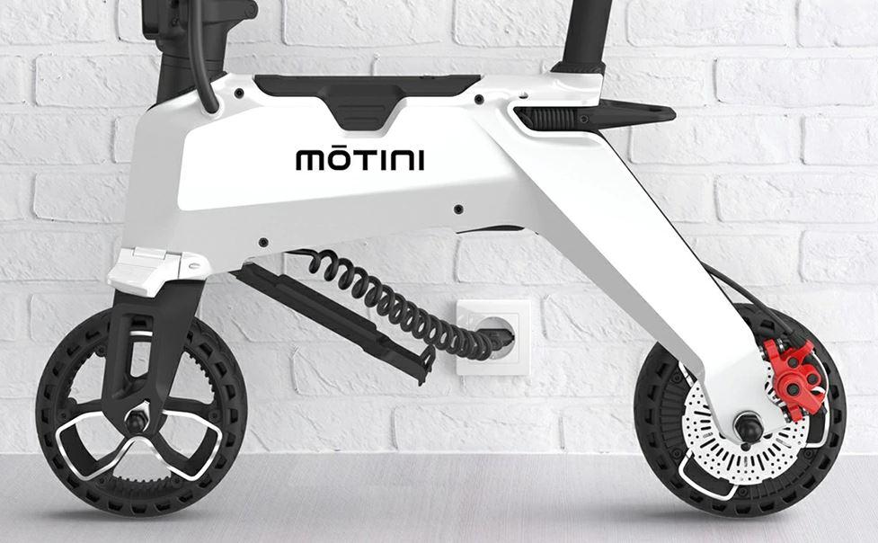 MOTINI Nano Mini, in super offerta l'unica bici elettrica che potrete salire in aereo