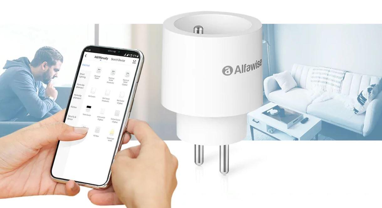 Presa smart Alfawise PF1006 con supporto Alexa e Google a poco più di 9 euro