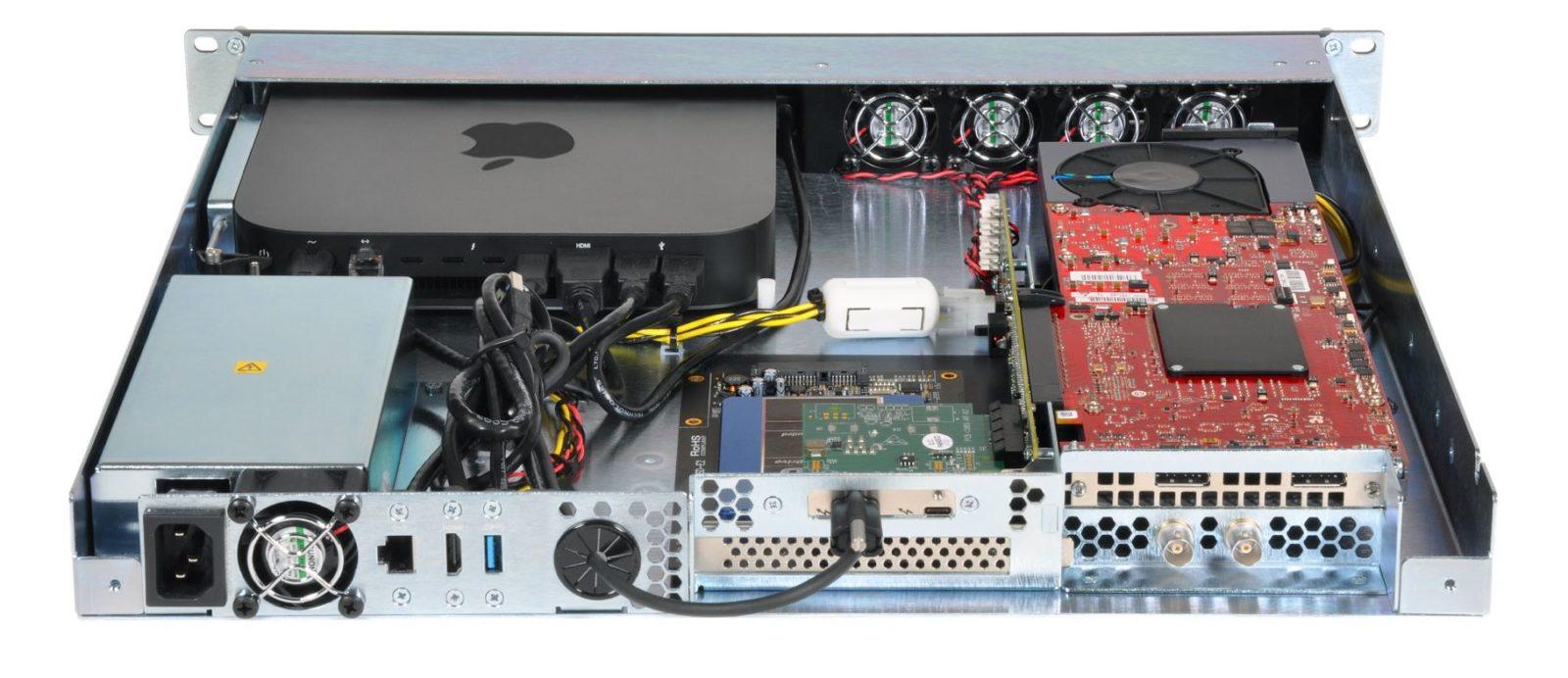 Sonnet ha creato una nuova versione del sistema di montaggio in rack per Mac Mini
