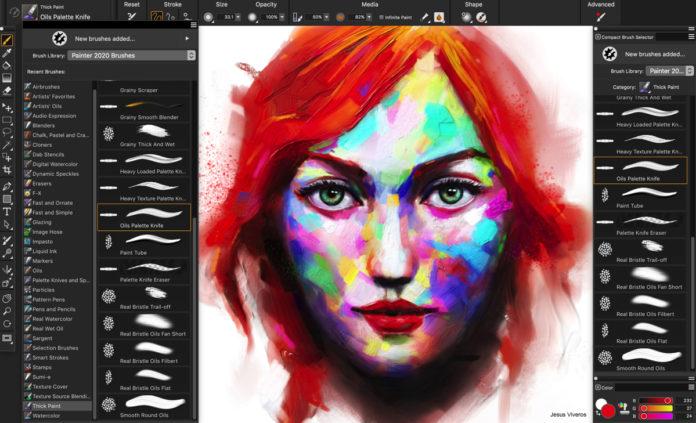 Corel Painter 2020 mette il turbo e cambia volto su Mac e Windows
