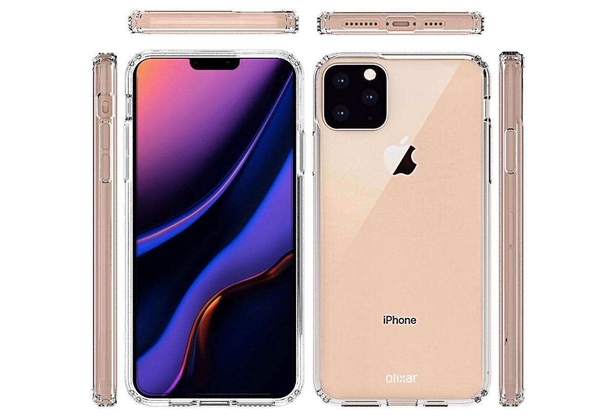 iPhone 11 Max, i render della cover mostrano il nuovo pulsante mute e non solo