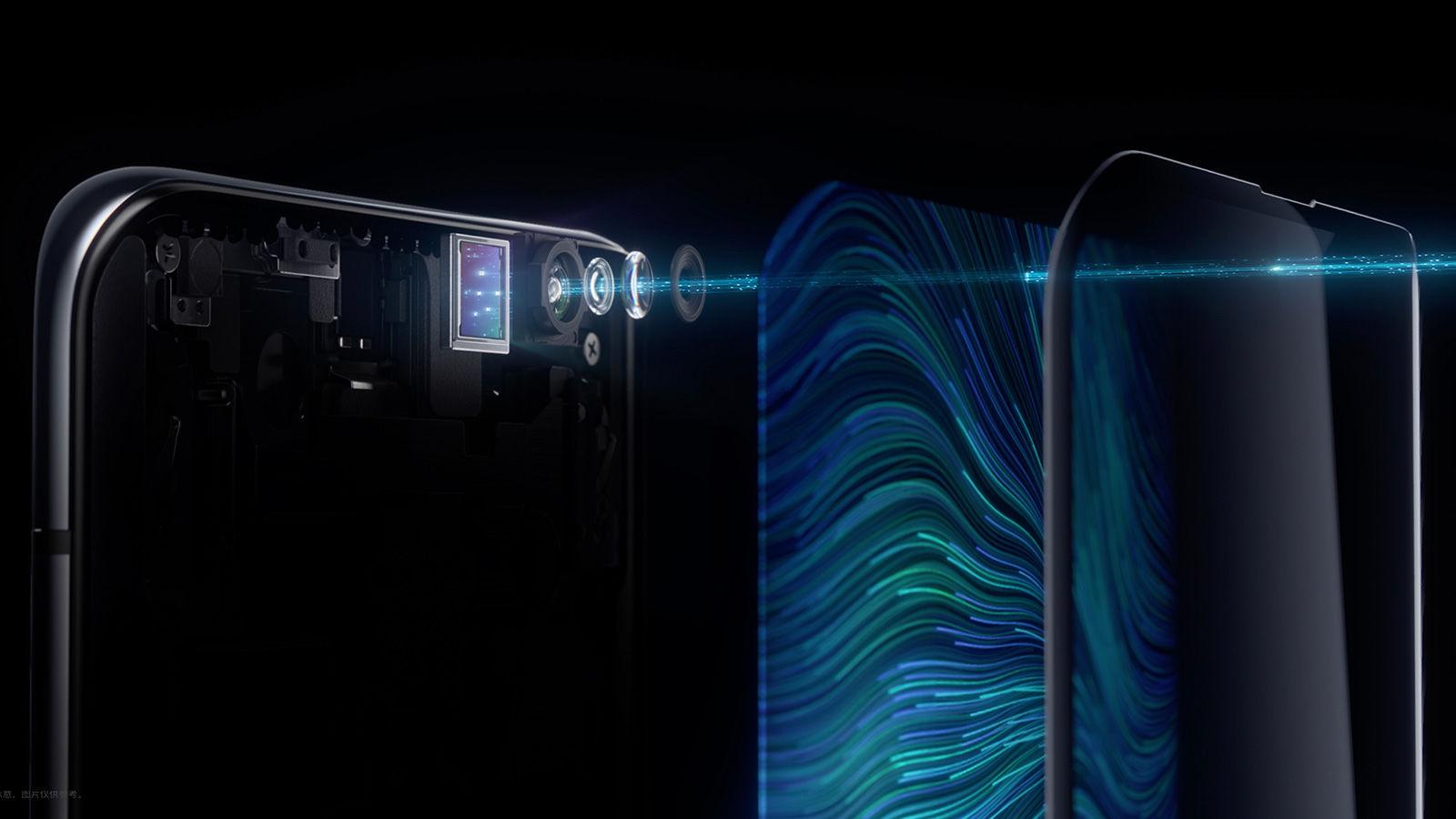 Lo smartphone OPPO con camera sotto schermo è realtà, eccolo in foto