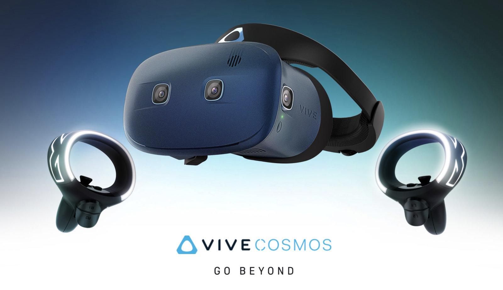 HTC Vive Cosmos la realtà virtuale passa per schermo più nitido e sei camere di tracciamento
