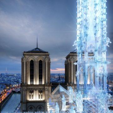 Lo studio che progetta gli Apple Store ha proposto un'idea per la ricostruzione di Notre-Dame