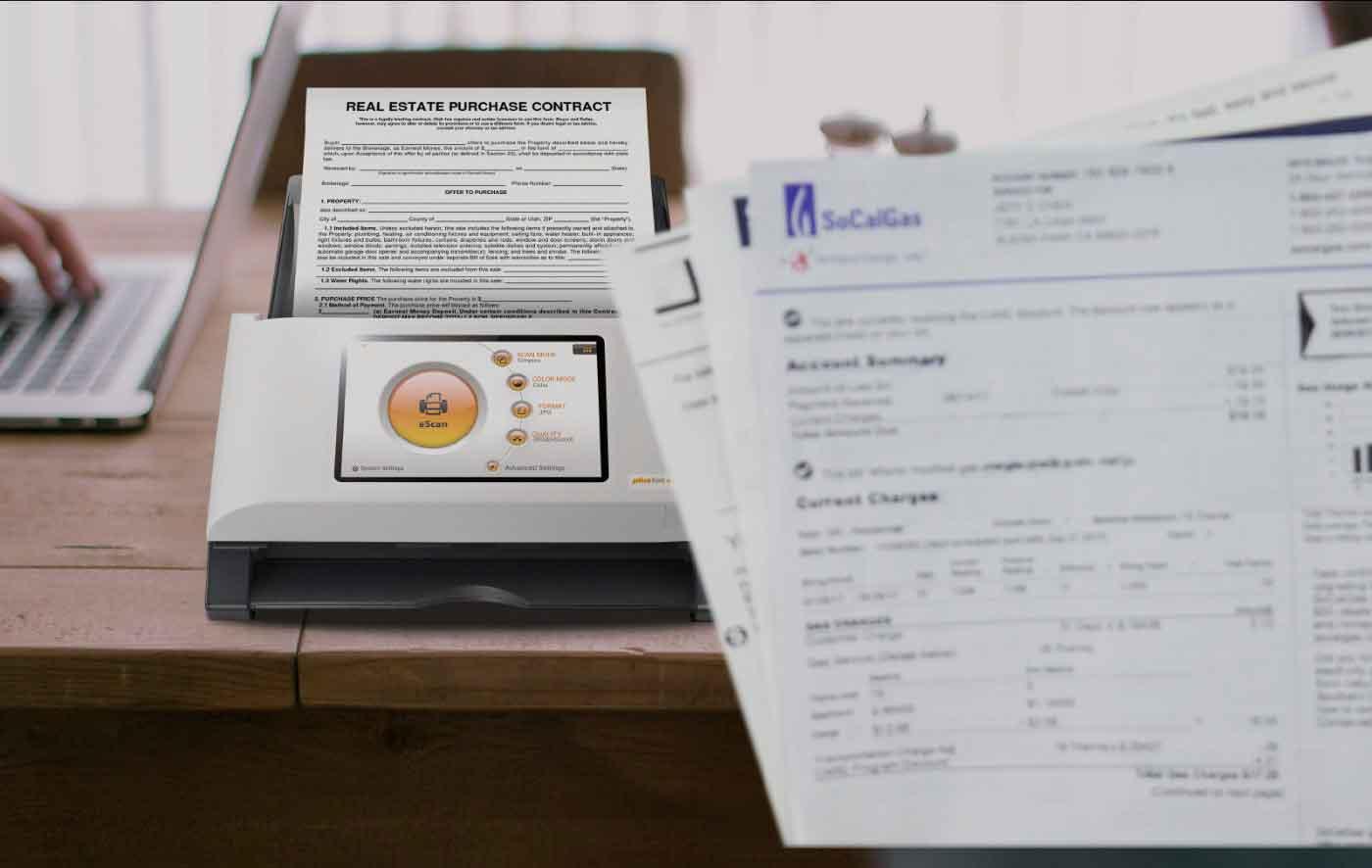 Lo scanner Plustek eScan A350 arriva in Italia