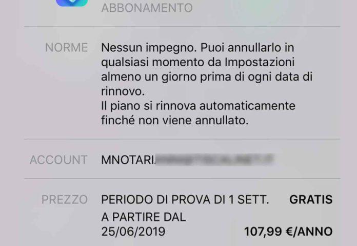iOS 13 chiede conferma prima di eliminare app con abbonamenti in corso