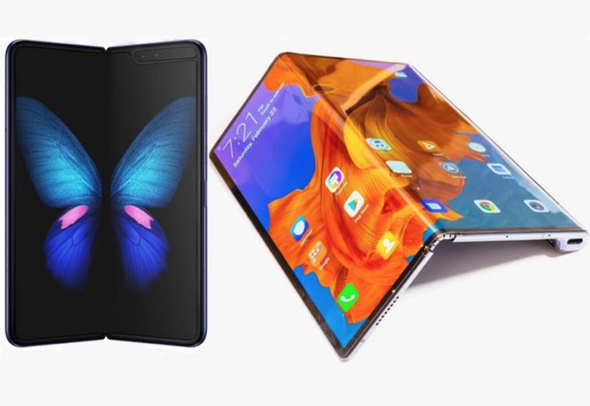 Il trono degli smartphone pieghevoli: Galaxy Fold forse arriva, Huawei Mate X chissà
