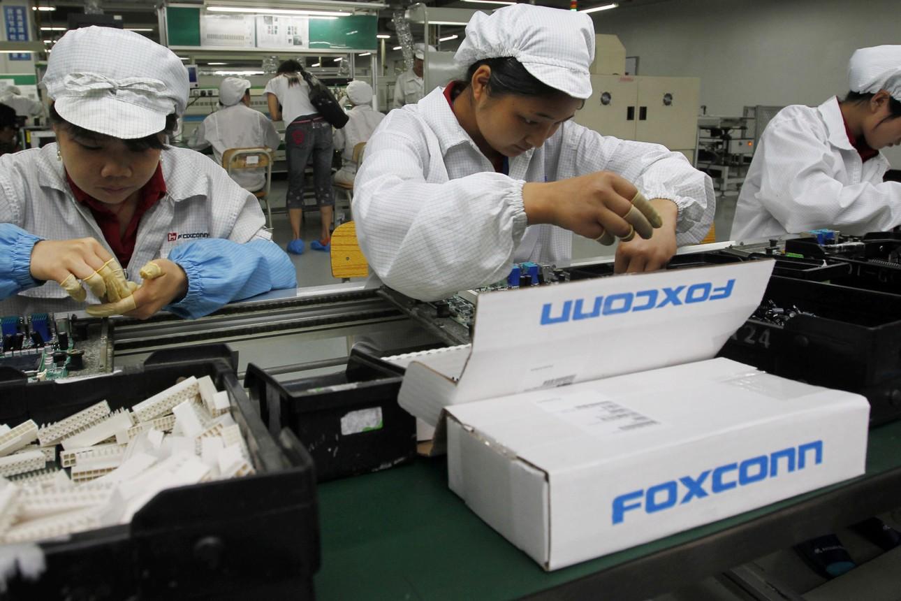 foxconn fabbriche