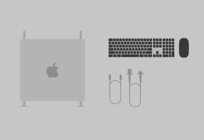 Con il nuovo Mac Pro una tastiera silver e black ad hoc per la workstation