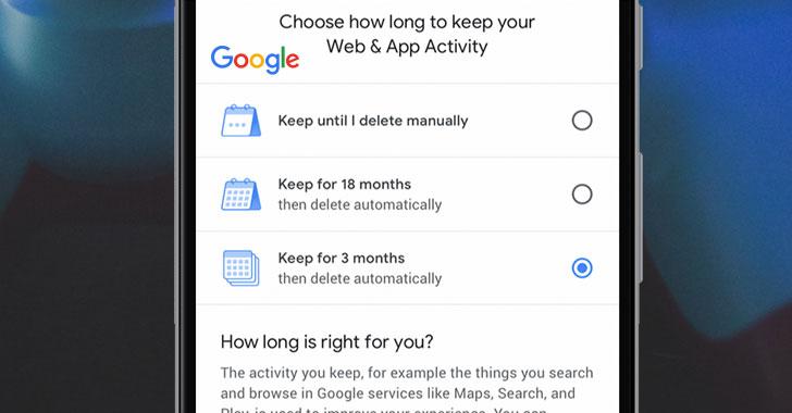 Google consente eliminare automaticamente la cronologia posizioni