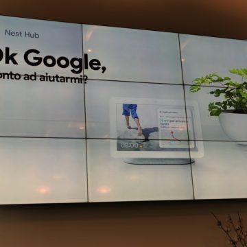 Presa di contatto e unboxing di Google Nest Hub, domotica, informazioni e video in 7″
