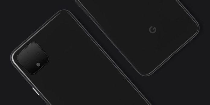 Google Pixel 4 nella prima foto ufficiale, come iPhone IX con il quadrato sul retro