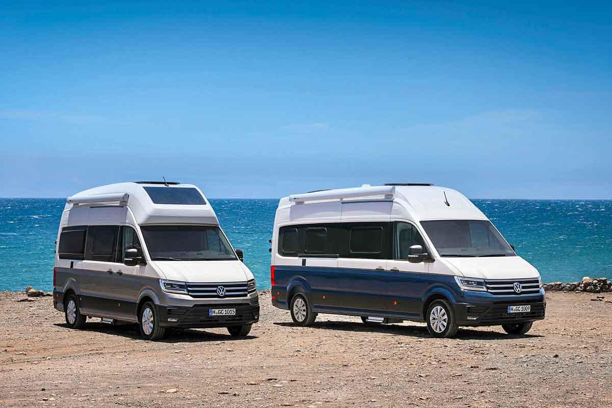 Il nuovo camper Grand California di Volkswagen supporta CarPlay e altre tecnologie