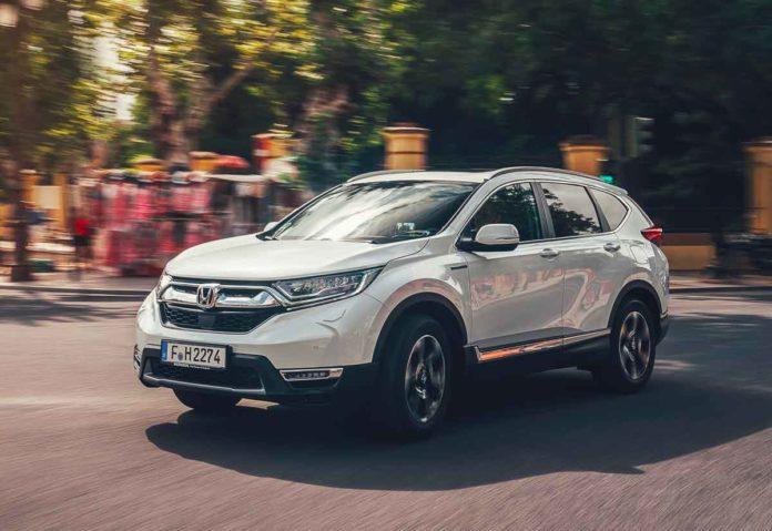 Honda al Salone dell'Auto di Torino con i nuovi CR-V Hybrid e HR-V Sport