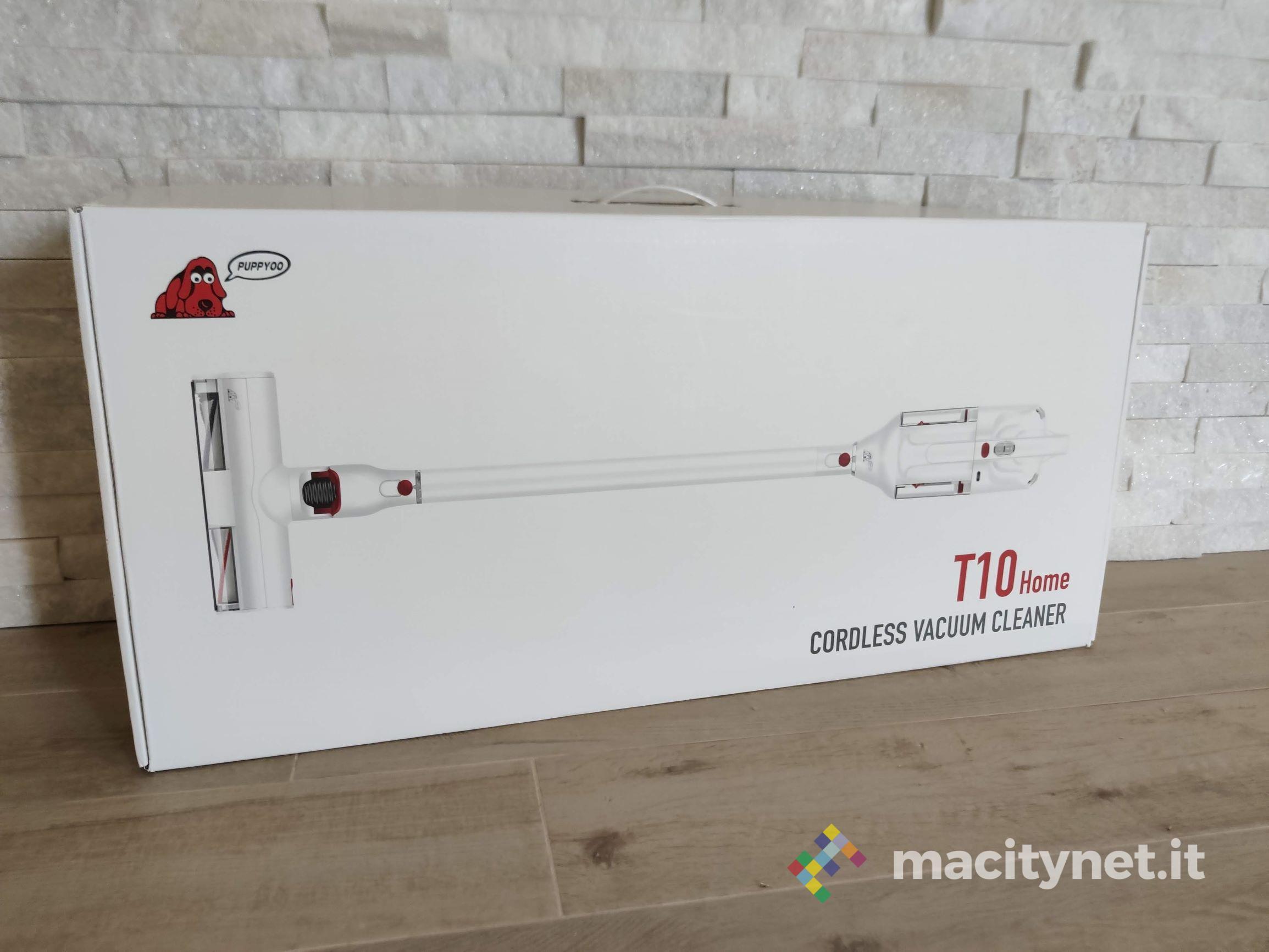 Recensione PUPPYOO T10, l'aspirapolvere senza filo verticale moderno e potente