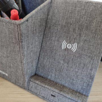 In prova il caricatore Lecone Wireless che vi organizza anche la scrivania