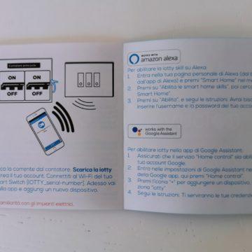 Recensione Iotty Smart Switch: con Siri, Alexa e Assistente Google comandate luci e cancelli