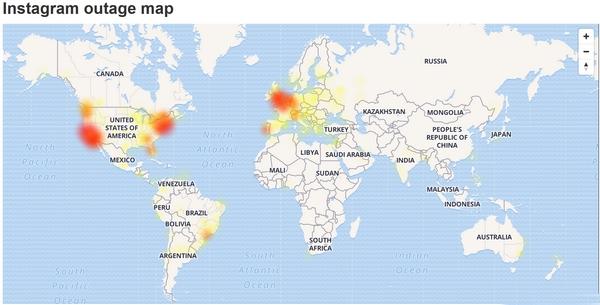 Instagram down in varie parti del mondo