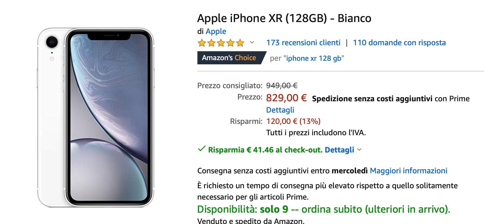 I migliori sconti Apple di Amazon: iPhone X 845€, MacBook Air 799€, iPad Pro 11″ 796€, iMac 999€