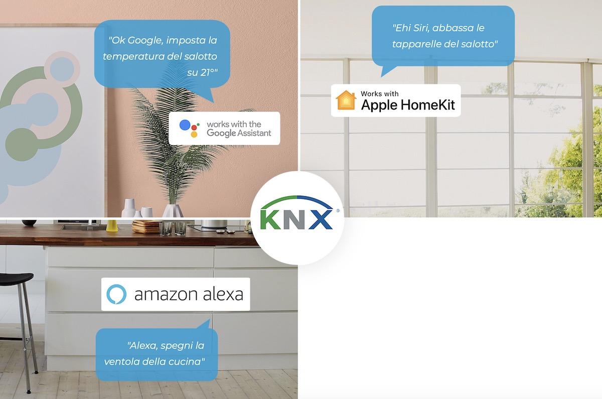 Con Easykon la domotica KNX ora si può integrare con Homekit, Google e Alexa