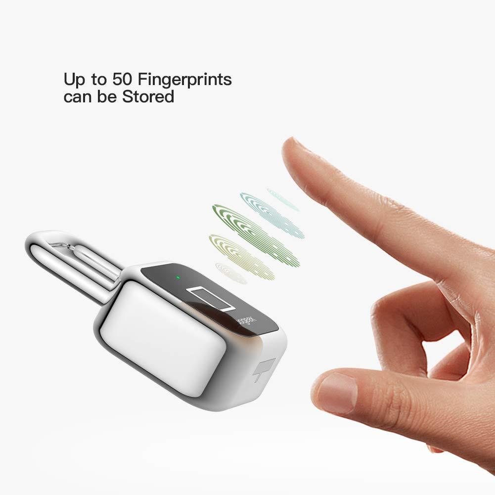 Da Koogeek il geniale lucchetto smart a impronte digitali compatibile con Apple HomeKit