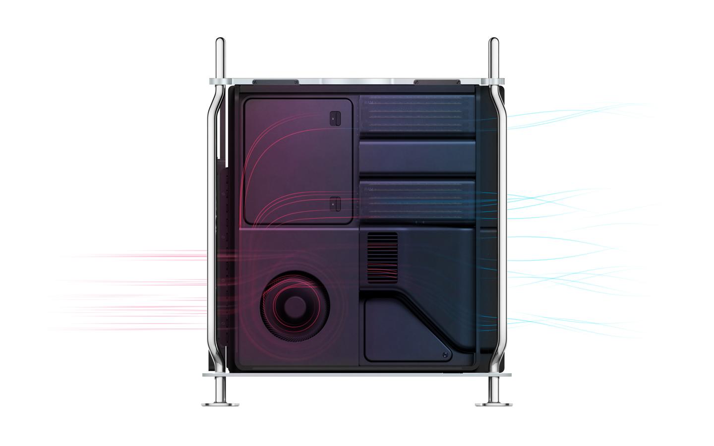 Mac Pro 2019, la gestione termica è un capolavoro di ingegneria