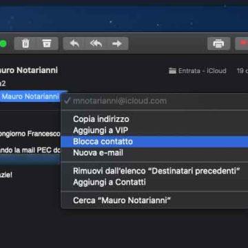macOS 10.15 Catalina, le nuove funzioni antispam integrate in Mail
