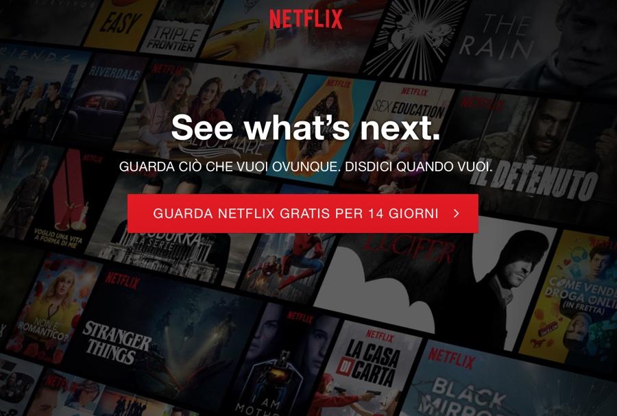 Aumentano i prezzi Netflix in Italia ma non il piano base