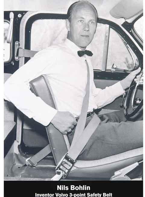 60 anni di vite salvate con le cinture di sicurezza