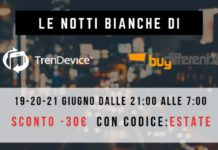 Le notti bianche di TrenDevice e BuyDifferent: l'appuntamento con gli sconti è per questa sera
