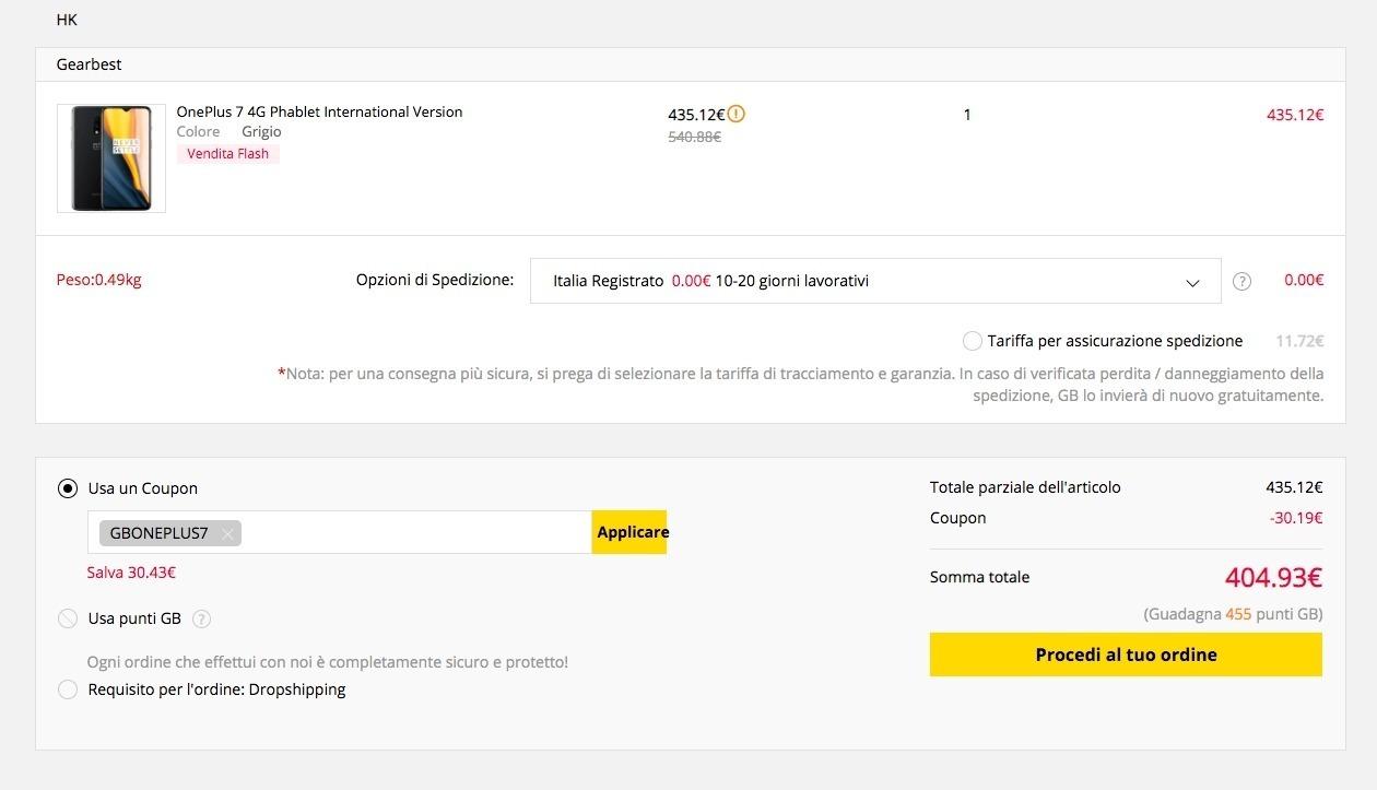 In super offerta OnePlus 7 a 430 euro con coupon, ancora per poche ore