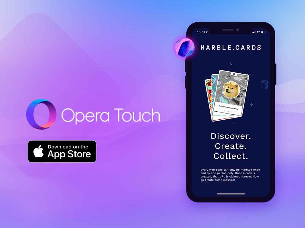 Con Opera Touch per iOS le criptovalute e le transazioni sulla blockchain di Opera si gestiscono anche da iPhone