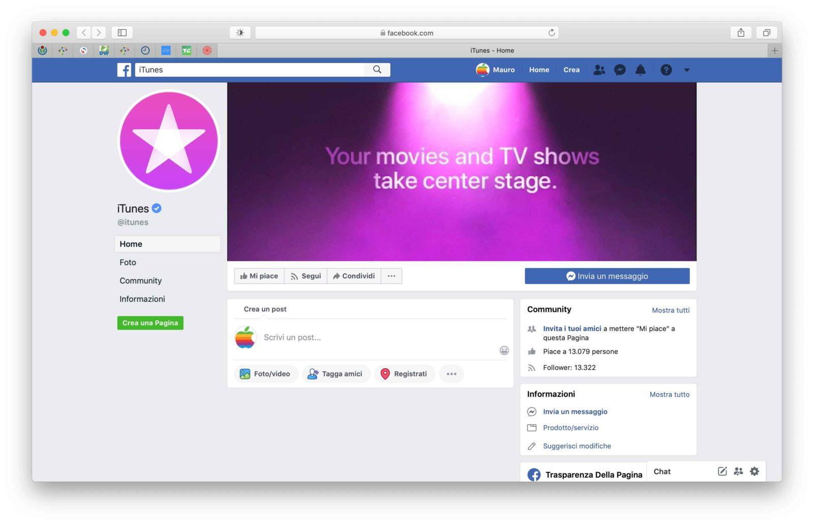 Nuovi chiodi nella bara di iTunes: eliminate le sezioni social su Facebook e Instagram