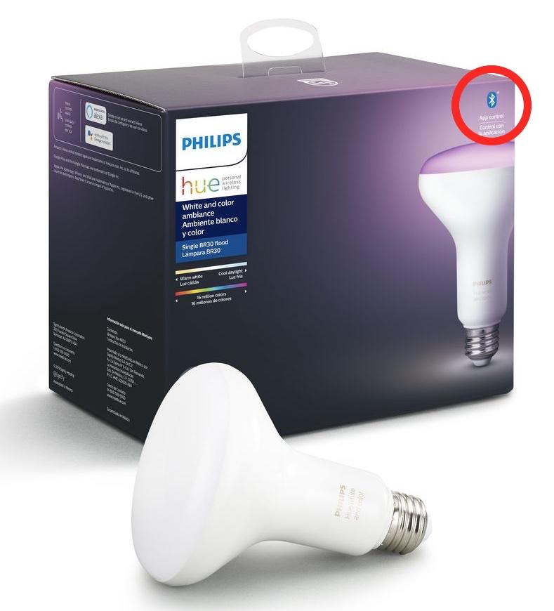 Philips Hue ora sono Bluetooth per funzionare anche senza hub