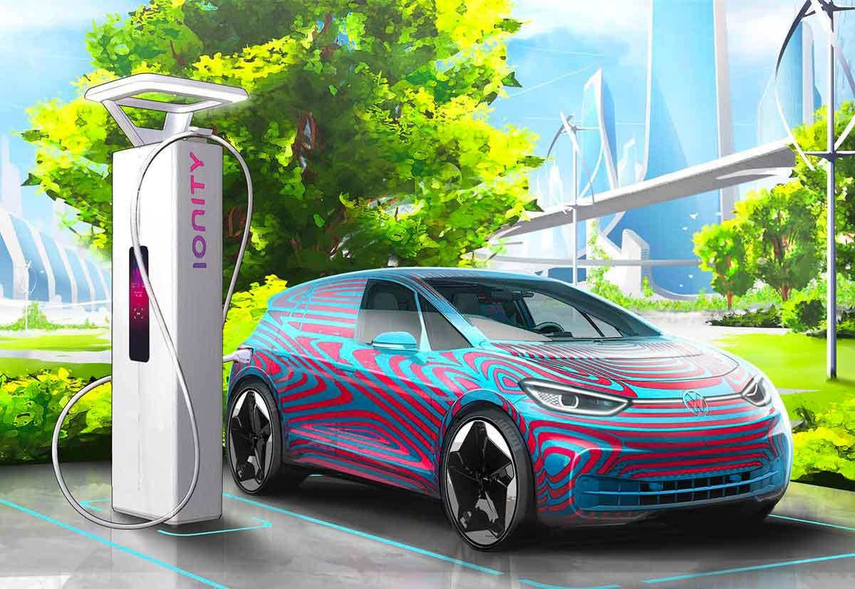 Volkswagen pianifica in tutta Europa 36.000 punti di ricarica per auto elettriche