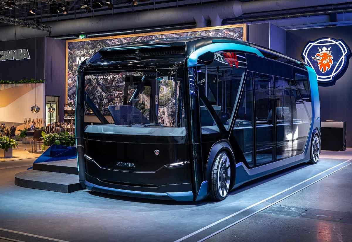 Scania Nxt è un veicolo concept per il trasporto in ambito urbano