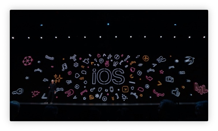 Apple presenta iOS 13, con dark mode