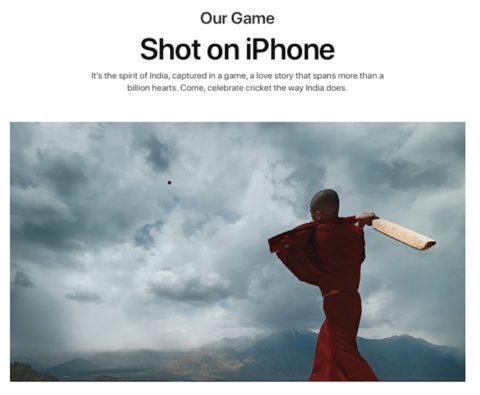 """Il nuovo spot Apple """"Shot on iPhone"""" racconta l'amore dell'India per il cricket"""