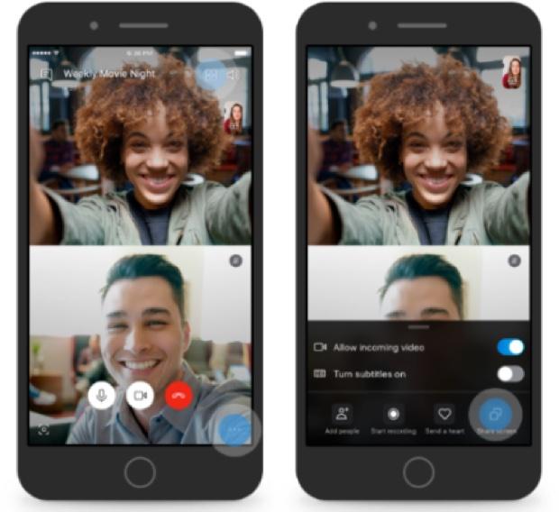 Con Skype ora si può condividere lo schermo su iPhone e Android