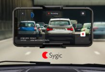 Sygic, nuova funzione Dashcam con connettività Apple CarPlay