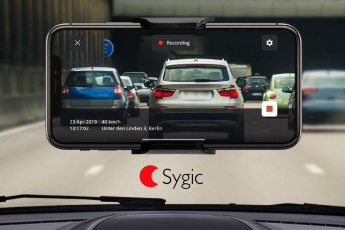 Sygic, nuova funzione Dashcam con connettività Apple CarPlay