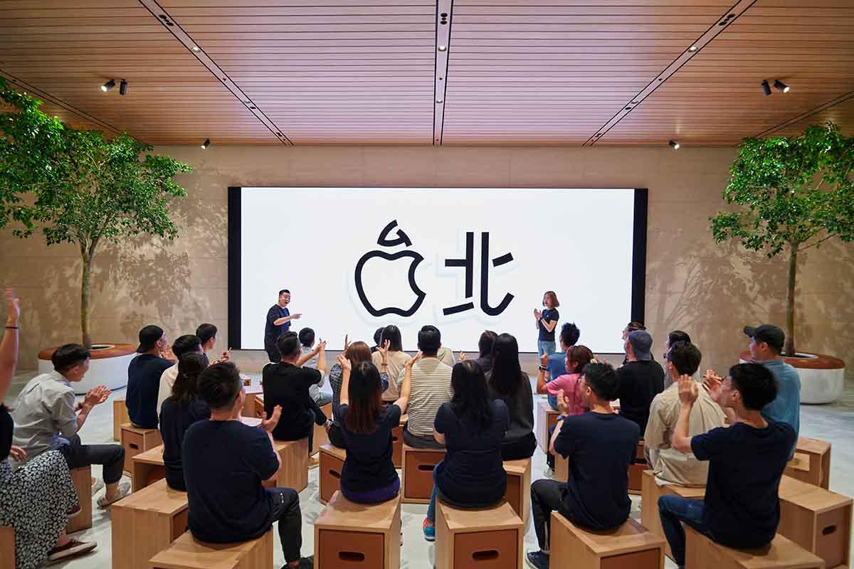 produzione di airpods - Apple Xinyi A13 apre sabato a Taipei