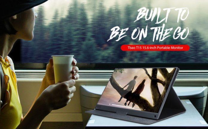 Tbao T15, solo 170 euro per il monitor portatile touch screen da 15.6 pollici