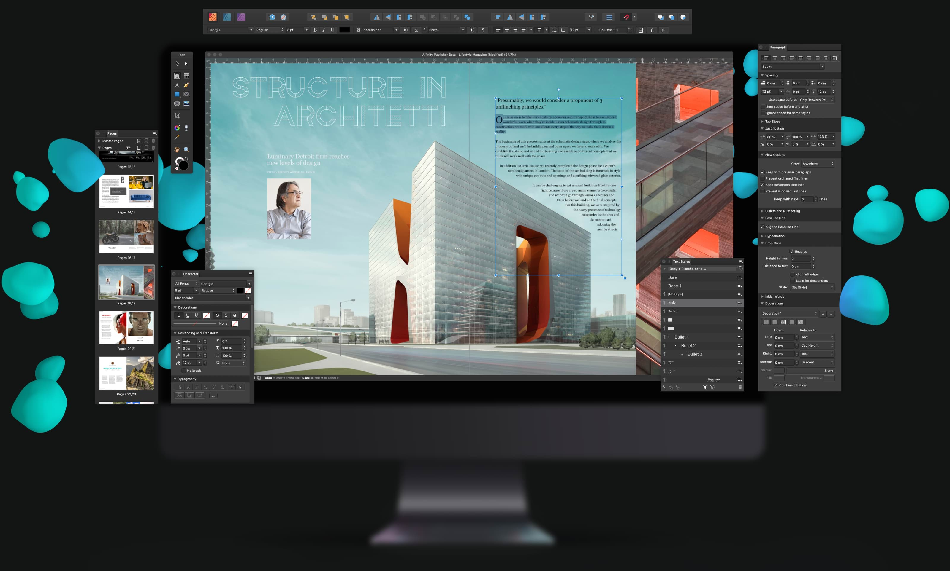 Affinity Publisher: il software alternativo per impaginare non è più in beta