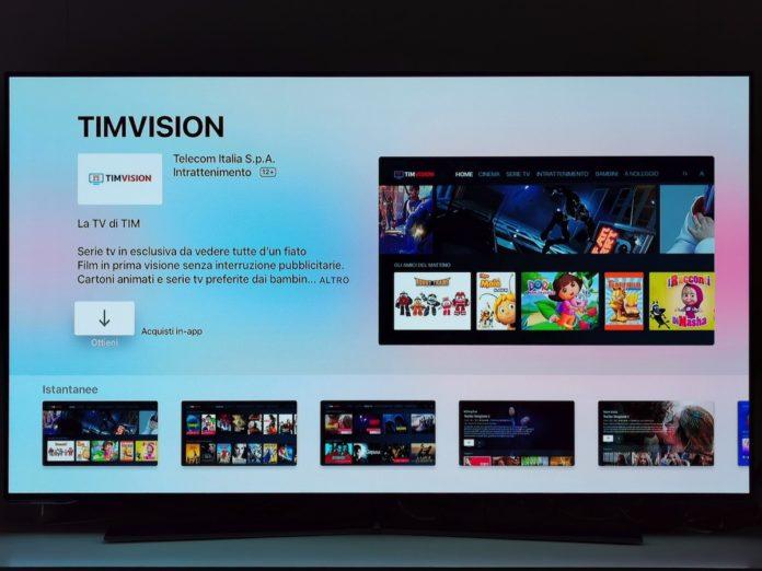 Apple TV e Amazon Fire TV Stick ora hanno l'app TIMVISION con film e serie