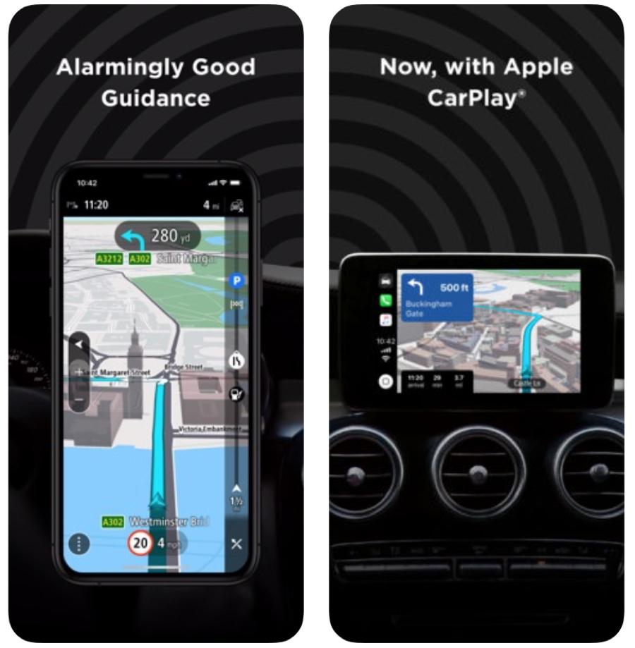 L'app di TomTom per iPhone ora con supporto CarPlay e altre novità