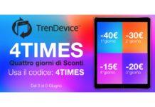 4 giorni di Sconti fino a -40€ su Smartphone e Tablet Ricondizionati TrenDevice