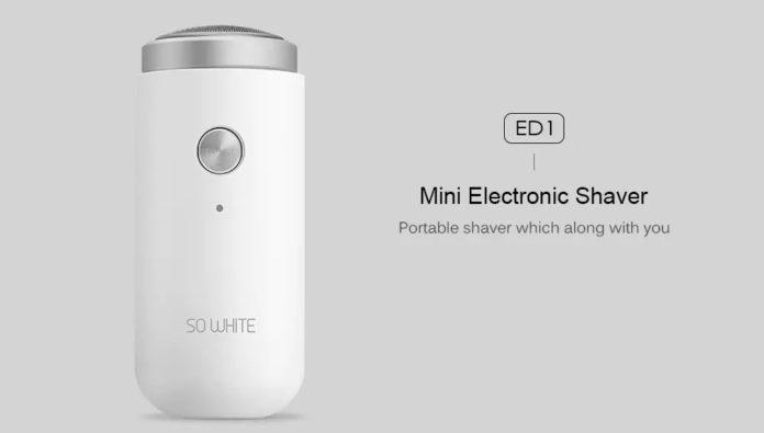 Xiaomi SO WHITE, l'elegante mini rasoio da viaggio di Xiaomi ora in offerta
