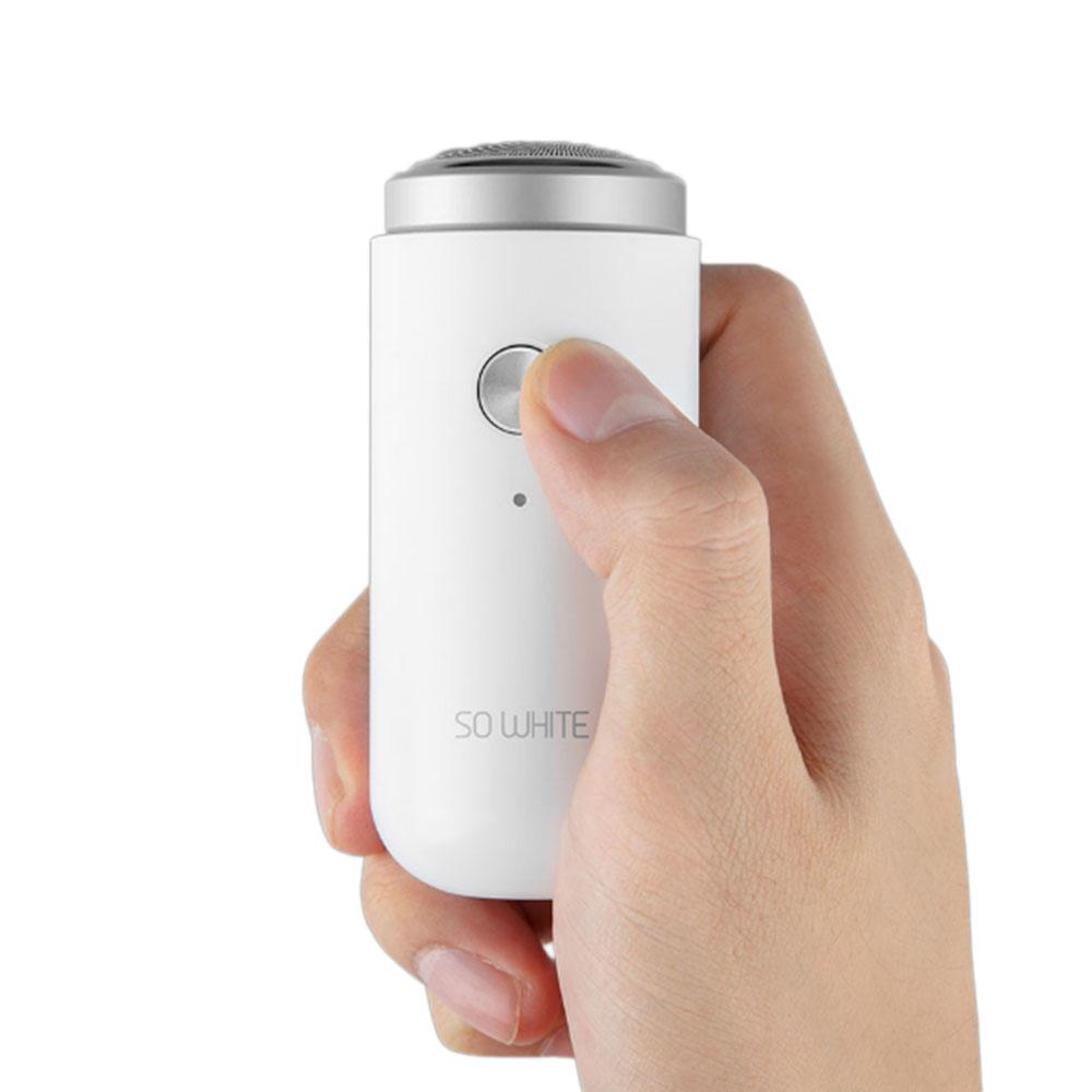 Xiaomi SO WHITE ED1, l'elegante mini rasoio da viaggio di Xiaomi ora in offerta
