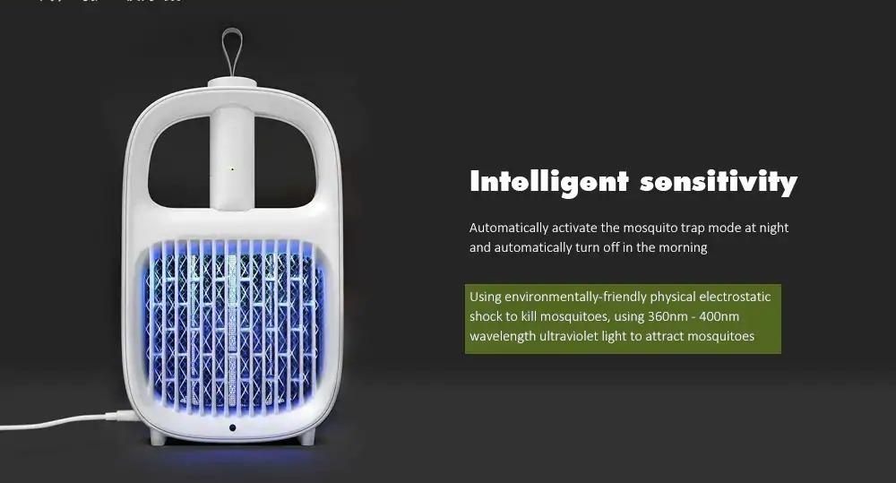 Xiaomi Yeelight 2 in 1, la lampada per friggere e schiaffeggiare le zanzare